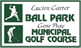 Ball Park and Golf Course Signs
